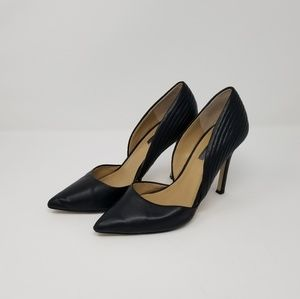 BCBGeneration Synthetic Leather Stiletto Heels